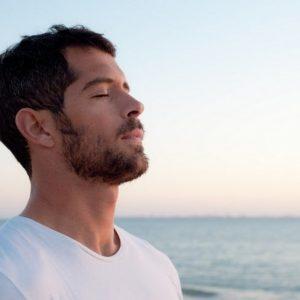 man-breathing